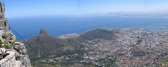 Table Bay and Cape Town City
