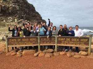 Tourists at Cape of Good Hope